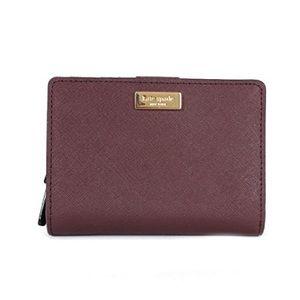 Kate Spade mulled wine cara wallet